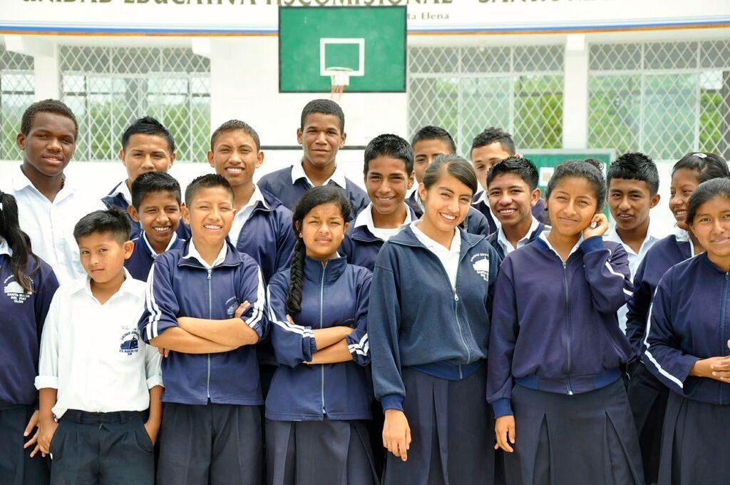 Older Students in Uniform